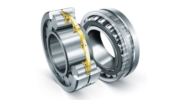 Cuscinetti a rulli cilindrici e cuscinetti radiali orientabili a rulli Schaeffler soddisfano i requisiti estremi necessari per le macchine edili.