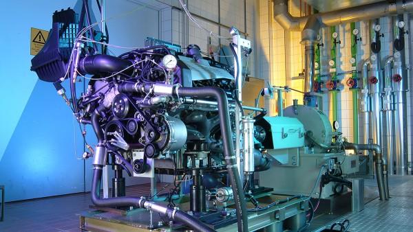 Soluzioni Schaeffler per il settore delle motociclette e dei veicoli speciali Banco di prova motore