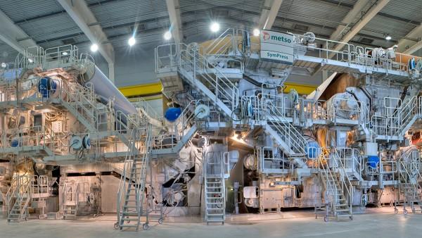Soluzioni Schaeffler per il settore della cellulosa e della carta