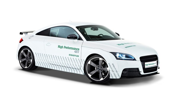 Concept car Schaeffler High Performance 48 Volt