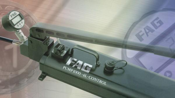 Il programma per computer FAG Mounting Manager è un pratico aiuto per garantire il montaggio corretto di cuscinetti a foro conico.