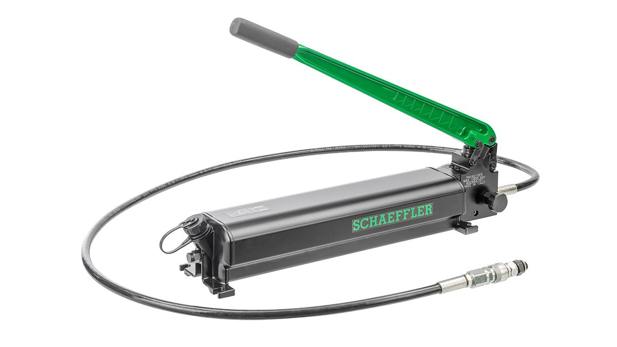 Schaeffler maintenance products: pressure generation devices