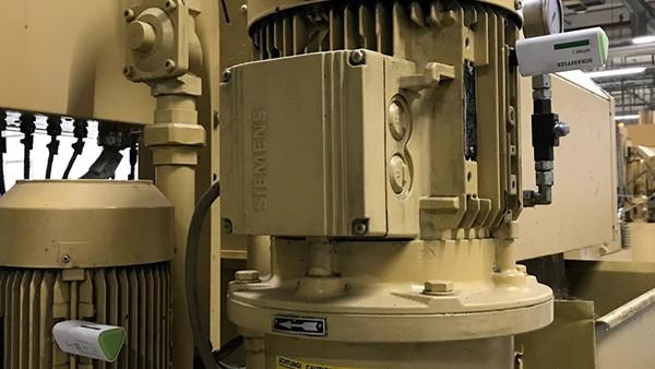 Monitoraggio dei motori delle fresatrici