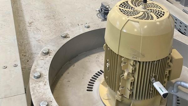 Monitoraggio dei motori delle macchine per il trattamento termico