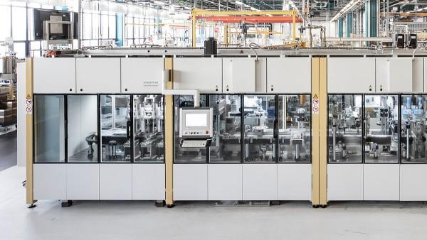 Capannone di produzione del reparto Special Machinery Schaeffler