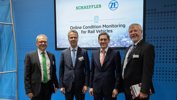 Ferrovia 4.0: Schaeffler e ZF collaborano in ambito di condition monitoring online nel settore dell'industria ferroviaria