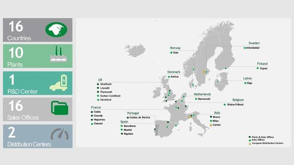 Le Sub-Regioni Southern Europe e Western Europe del Gruppo vengono riunite in un'unica Sub-Regione al fine di ridurre la complessità della struttura organizzativa.