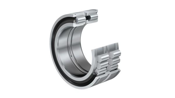 Cuscinetti volventi e cuscinetti a strisciamento Schaeffler: Cuscinetti radiali a rulli cilindrici a pieno riempimento con gole nell'anello esterno