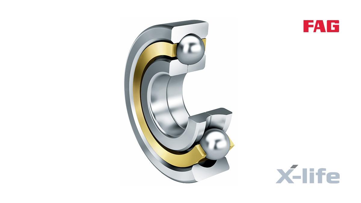 Cuscinetti volventi e cuscinetti a strisciamento Schaeffler: Cuscinetti a quattro punti di contatto